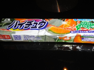 Hi-Chew Melon. Copyright © 2011 Japaneze Jusu